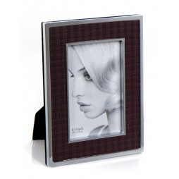 Dekor Metall Portraitrahmen CARO für 10x15 cm zum Stellen oder Hängen