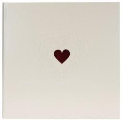 Goldbuch Fotoalbum Hochzeitsalbum Ti Amo 27015 , 60 weiße Seiten