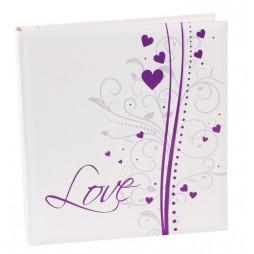 Goldbuch Fotoalbum Hochzeitsalbum Dream 08231 , 60 weiße Seiten mit Textvorspann