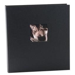 Goldbuch Fotoalbum Chromo anthrazit 31x30cm, schwarze Seiten 27851