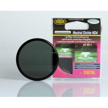 Bilora Graufilter ND4 77mm mit Filterbox Neutral Dichte ND4