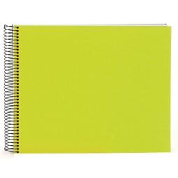 Goldbuch Spiralalbum Bella Vista grün 35x30cm weiße Seiten 25362