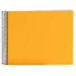 Goldbuch Spiralalbum Bella Vista gelb 35x30cm weiße Seiten 25371
