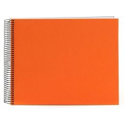 Goldbuch Spiralalbum Bella Vista orange 35x30cm weiße Seiten 25372