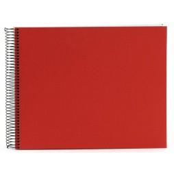 Goldbuch Spiralalbum Bella Vista rot 35x30cm weiße Seiten 25373