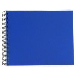 Goldbuch Spiralalbum Bella Vista blau 35x30cm weiße Seiten 25376