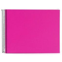 Goldbuch Spiralalbum Bella Vista pink 35x30cm weiße Seiten 25364