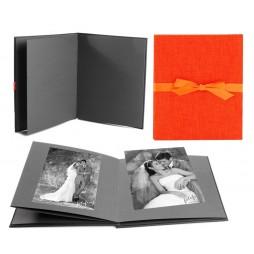 Goldbuch Leporellomappe Summertime orange 68706 für 10x Bilder 13x18cm