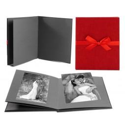 Goldbuch Leporellomappe Summertime rot 68707 für 10x Bilder 13x18cm