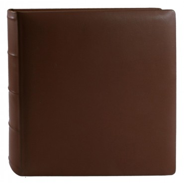 Goldbuch Fotoalbum Roma Echt Leder braun 31956 30x31cm, 100 beige Seiten