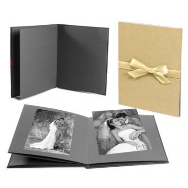 Goldbuch Leporellomappe Bella Vista Sand 68506 für 10x Bilder 13x18cm