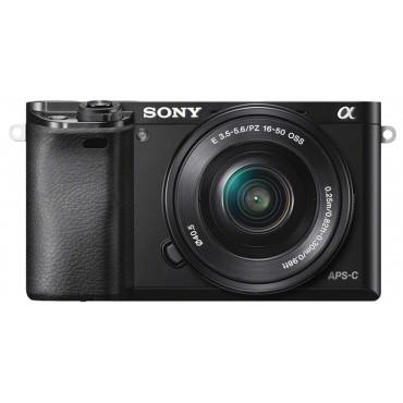 Sony Alpha ILCE-6000 inkl. 3,5-5,6 / 16-50 mm OSS schwarz