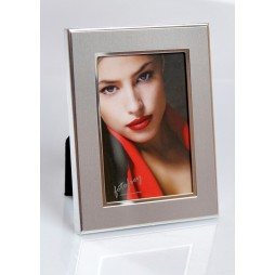 EURATIO Metall Portraitrahmen SANIA für 5x8 cm zum Stellen oder Hängen