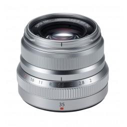 FUJIFILM Fujinon Objektiv XF 35mm F2 R WR silber