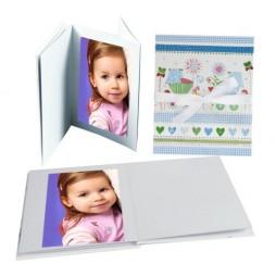 Goldbuch Leporellomappe Luna für Baby 68115 für 10x Bilder 13 x 18 cm Leporello
