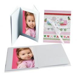 Goldbuch Leporellomappe Luna für Baby 68114 für 10x Bilder 13 x 18 cm Leporello