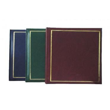 3x Henzo Jumbo XL Classic Foto Album 33x35 cm Fotoalbum Buchalbum mit 100 weißen