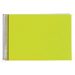 Goldbuch Spiralalbum Bella Vista grün 23x17cm, 40 weiße Seiten 20362