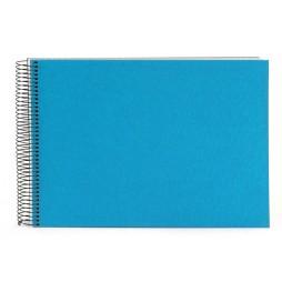 Goldbuch Spiralalbum Bella Vista türkis 23x17cm, 40 weiße Seiten 20363