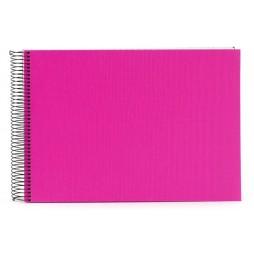 Goldbuch Spiralalbum Bella Vista pink 23x17cm, 40 weiße Seiten 20364