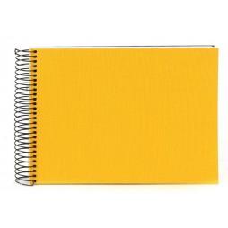 Goldbuch Spiralalbum Bella Vista gelb 23x17cm, 40 weiße Seiten 20371