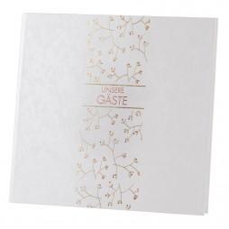 Goldbuch Gästebuch Growing Love 50156 - 176 weiße Seiten