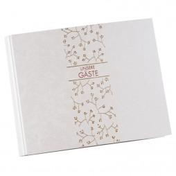 Goldbuch Hochzeit Foto Gästebuch Growing Love 47156 mit verdeckter Spirale