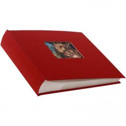 Goldbuch Einsteckalbum Leinen Bella Vista rot für 200 Bilder 10x15 cm 17890