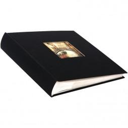 Goldbuch Einsteckalbum Leinen Bella Vista schwarz für 200 Bilder 10x15 cm 17897