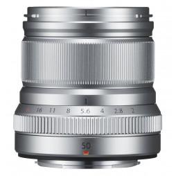 FUJIFILM Fujinon Objektiv XF-50mm F2 R WR silber