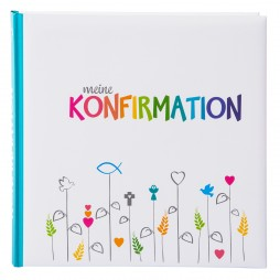 Goldbuch Konfirmations Fotoalbum Regenbogen 03029 Konfirmationsalbum