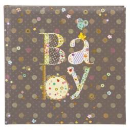 Goldbuch Babyalbum Romantic 25x25 cm , 60 weiße Seiten 24447