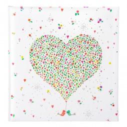 Goldbuch Hochzeitsalbum In Love 08160 - 60 weiße Seiten mit Pergamin