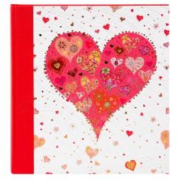 Goldbuch Hochzeitsalbum Big Heart red 08412
