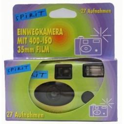 10x Einwegkameras mit Blitz in Spirit Design 27 Aufnahmen
