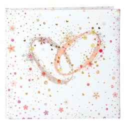 Goldbuch Hochzeit Gästebuch crystal Romance 50345 176 Seiten mit Lesezeichen