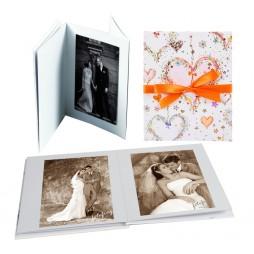 Goldbuch Leporellomappe Flying Hearts 68155 für 10x Bilder 13 x 18 cm Leporello