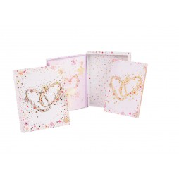 Goldbuch Schatzkästchen 85345 inklusive Karte - Serie Hochzeit Crystal Romance
