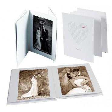 Goldbuch Leporellomappe Love 68080 für 10x Bilder 13 x 18 cm Leporello