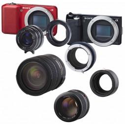 Novoflex Adapter Minolta / SONY AF Objektive an SONY NEX NEX/MI