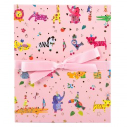 Goldbuch Leporellomappe Baby pets rosa 68441 für 10x Bilder 13 x 18 cm Leporello