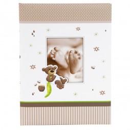 Goldbuch Babytagebuch Honigbär 11238 mit 44 illustrierten Seiten