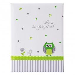 Goldbuch Babytagebuch Babyworld Eule 11330 mit 44 illustrierten Seiten