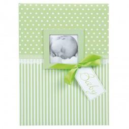 Goldbuch Babytagebuch Sweatheart grün 11803 mit 44 illustrierten Seiten