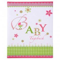 Goldbuch Babytagebuch Lovely rosa 11085 mit 44 illustrierten Seiten