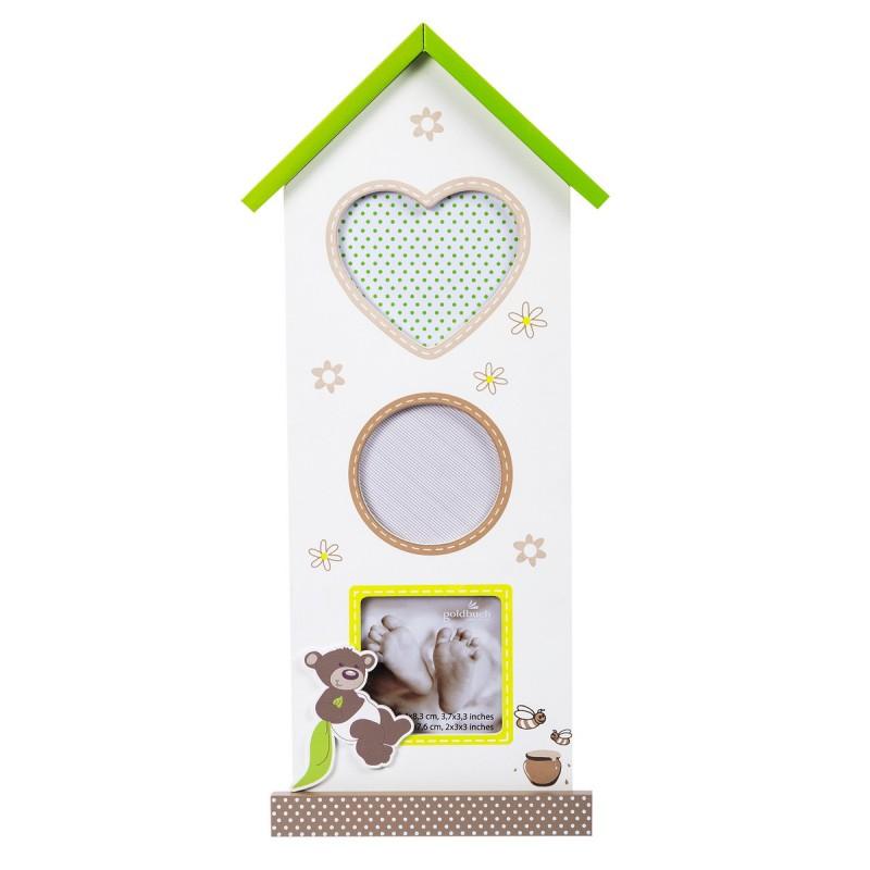 goldbuch baby galerierahmen serie honigb r f r 3 bilder. Black Bedroom Furniture Sets. Home Design Ideas
