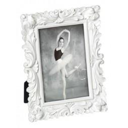 Walther Barockrahmen Saint Germain 10x15 cm weiß