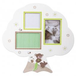 Goldbuch Baby Galerierahmen Serie Honigbär für 3 Bilder zum Hängen 920497