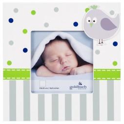 Goldbuch Babyrahmen Serie Babyworld Wal 10325 für ein Bild 10x10 cm zum Hängen