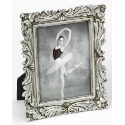 Walther Barockrahmen Saint Germain 15x20 cm Silber